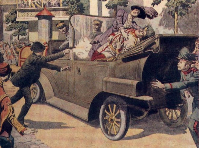 the assassination of archduke ferdinand started major changes to happen in europe World war i still would have happened even if archduke franz ferdinand was not assassinated - history bibliographies the assassination of archduke franz.