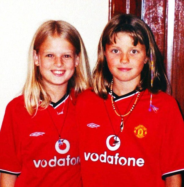File photo of Holly Wells (left) and her best friend, Jessica Chapman, both 10.
